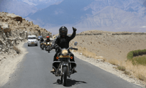 Women Motorcycle Expedition to Himalayas